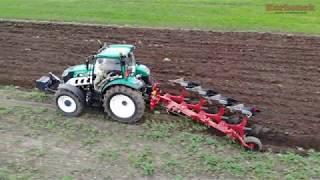 🔴🔴🔴Traktor na polu u rolnika ARBOS Advanced 5130 [136 KM] ciągnik roku