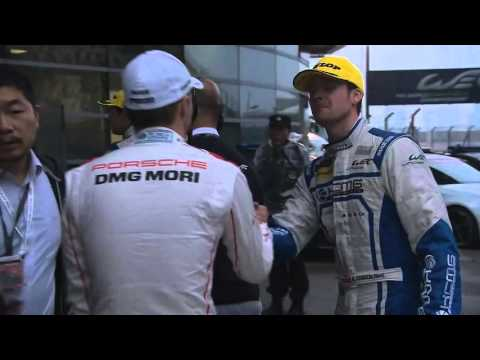 Interview with Porsche's Mark Webber after the Championship title