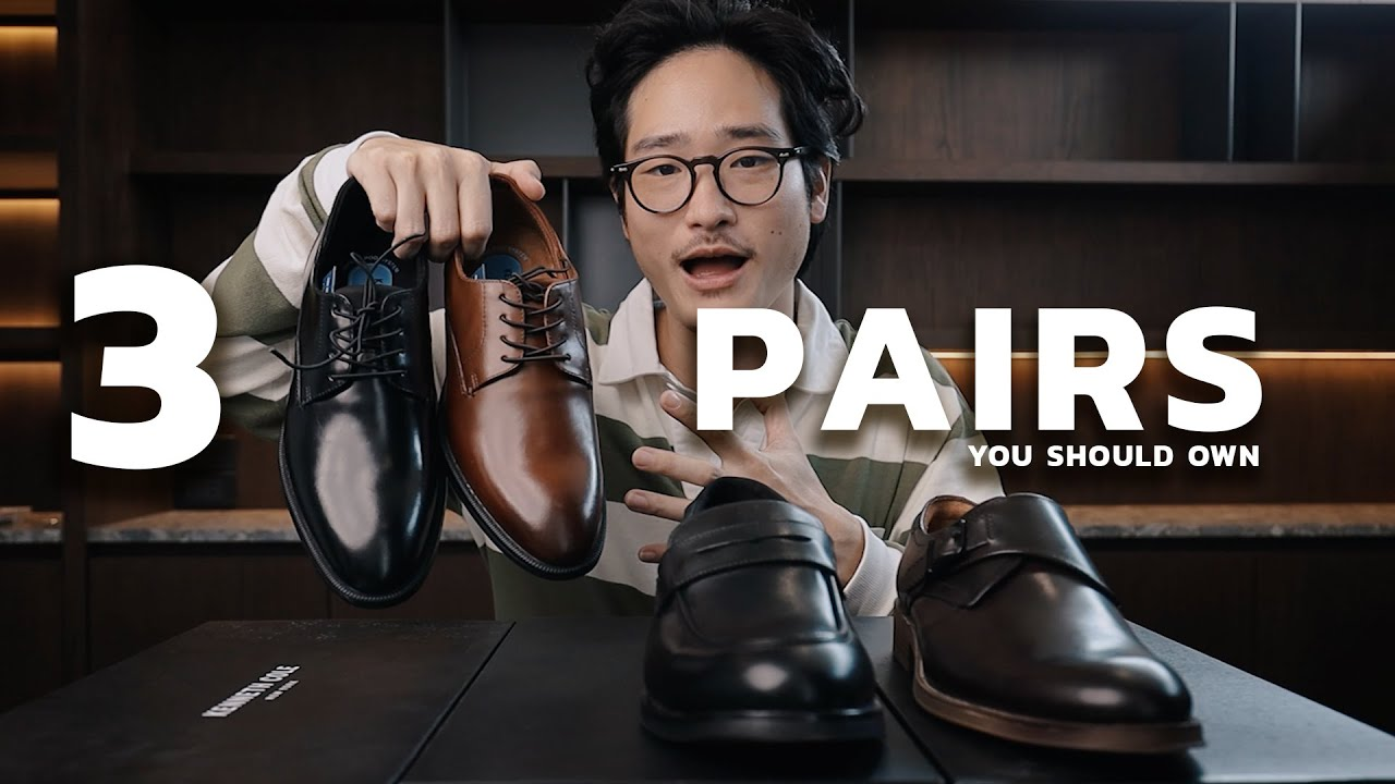 รองเท้าหนัง 3 แบบที่ผู้ชายทุกคนต้องมี!! | TaninS