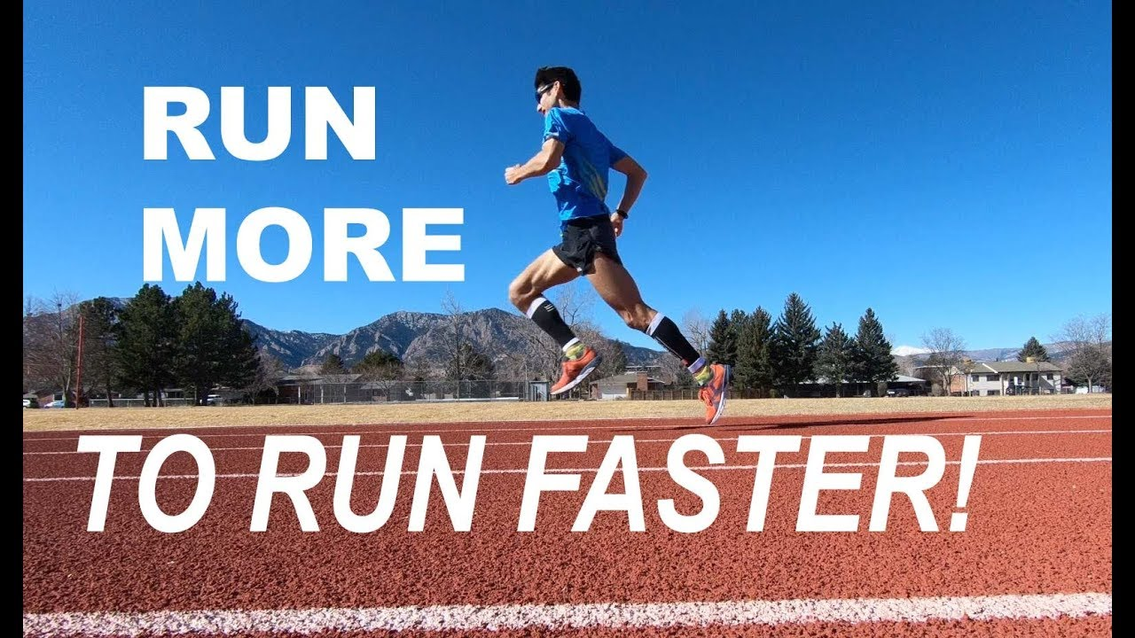 RUN MORE ( TO RUN FASTER ) AT DISTANCE RUNNING RACES! | COACH SAGE CANADAY  TRAINING TALK
