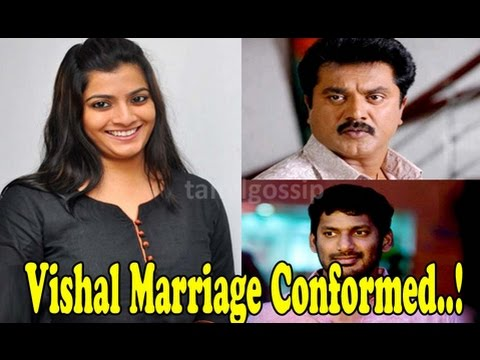 Varalaxmi now responds to Marriage with Vishal - 동영상