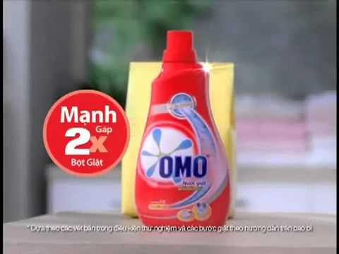 Quảng cáo OMO – Nước giặt OMO Lốc xoáy