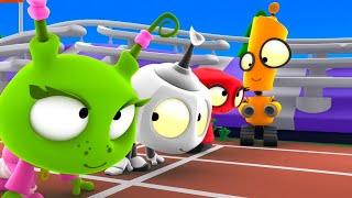 School Sports Day | Rob The Robot | Fun Cartoon Series