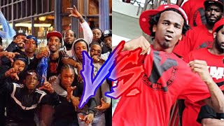 Crip Rappers Vs. Blood Rappers #2