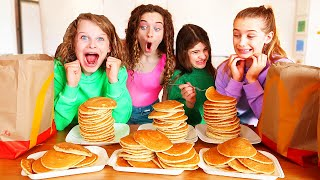 WHO CAN EAT THE MOST PANCAKES? w/The Norris Nuts