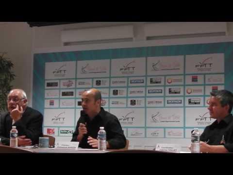 Conférence de presse Ping Tour Le Mans 2015