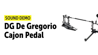 DG De Gregorio Cajon Pedal - Sound Demo