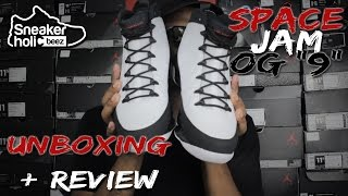 AIR JORDAN SPACE JAM OG 9 | UNBOXING | QUICK REVIEW | ON FEET