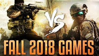 Black Ops 4 vs. Battlefield V & Fall 2018 Games (Call of Duty: BO4)
