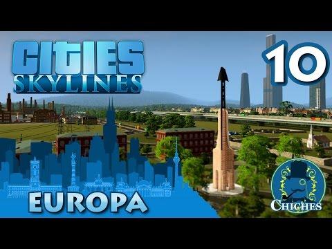 Cities Skylines - Europa - Primeros rascacielos #10 en español