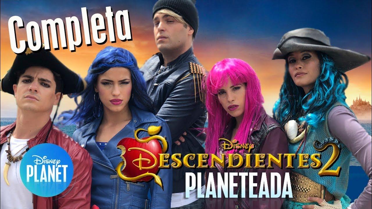 Descendientes 2 Planeteada Completa Disney Planet Youtube
