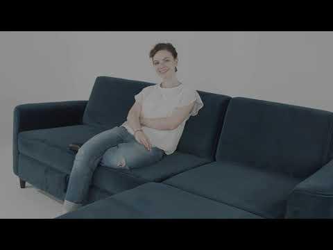 Elegance Corner Sofa Bed With Storage Youtube