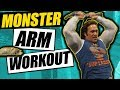 Monster Arm Workout | Get 21 inch Arms Like Mike O'Hearn