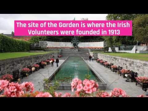 Garden of Remembrance   Curiosities of Dublin