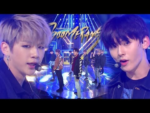 Free Download 《comeback Special》 Wanna One(워너원) - Boomerang(부메랑) @인기가요 Inkigayo 20180401 Mp3 dan Mp4