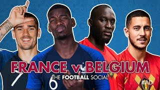 France 1-0 Belgium | World Cup Semi-Final | Umtiti 51' | Watchalong with Wayne Bridge!