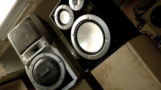 Дешевая акустика YAMAHA хуже чем музыкальный центр?! / Колонка SONY vs Yamaha