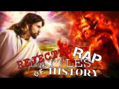 jesus vs satan epic rap battle youtube