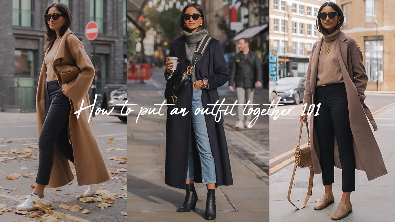 [VIDEO] - HOW I BUILD EVERYDAY OUTFITS FOR WINTER | LOOKBOOK 1