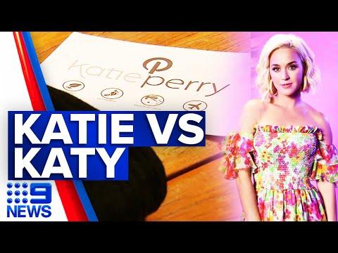 Australian Katie Perry battling singer in court | 9 News Australia