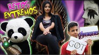 GAME OF THRONES vs AVENGERS ENDGAME Challenge | RETOS EXTREMOS