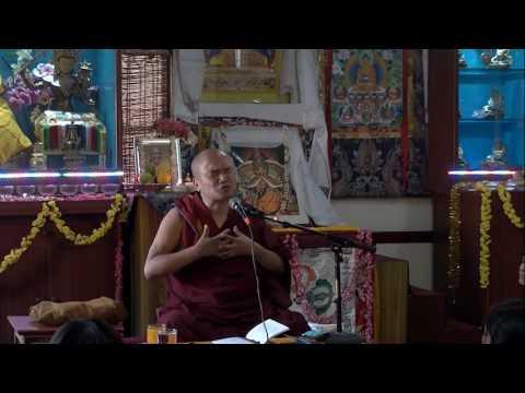 Study on Pramanavarttika, Chapter 2 - Day 2, Part 4 - Geshe Dorji Damdul