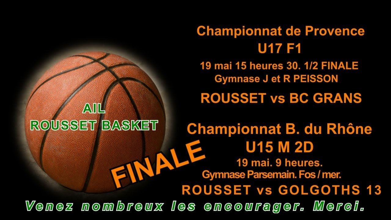 Provence Rhône Basket Championnat Et Matchs Du U17f Bouches U15m x7wX8TUq