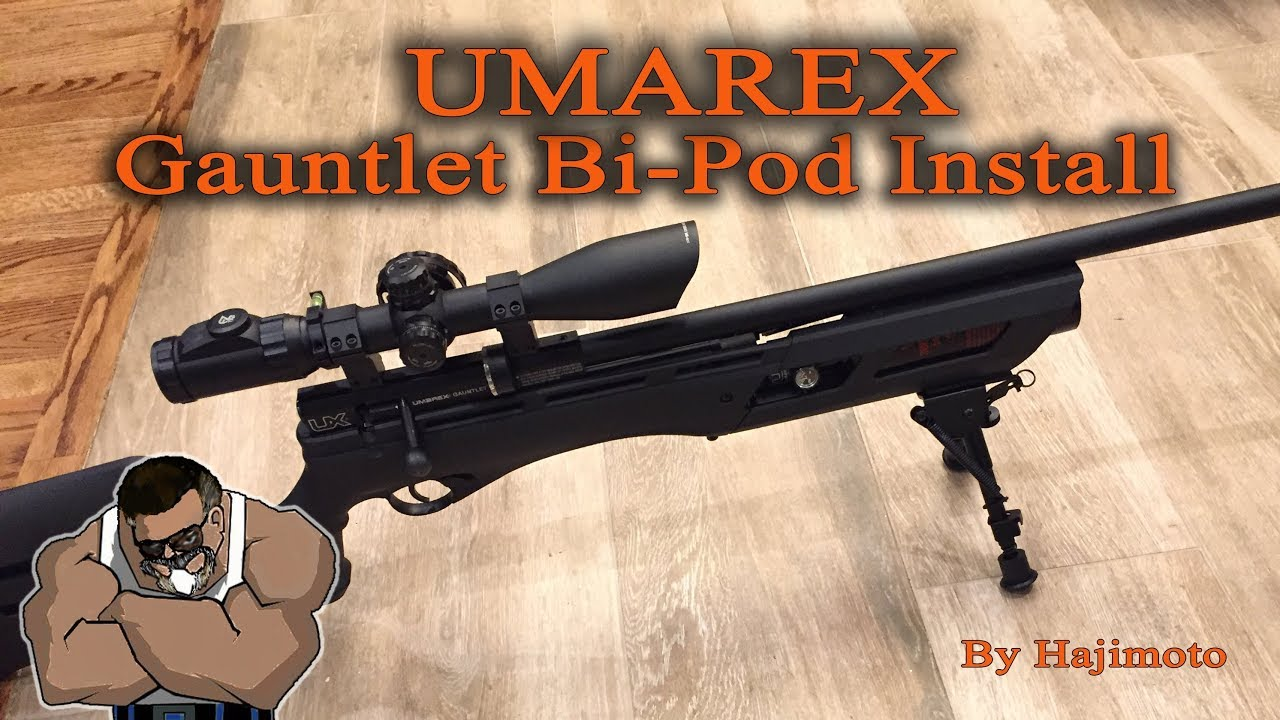 Umarex Gauntlet: Functional Bipod Installation (Video