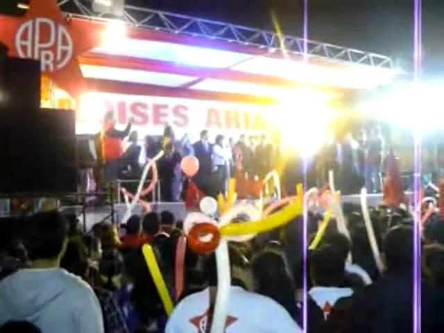 Gran mitin de cierre de campaña de Moisés Arias Quezada