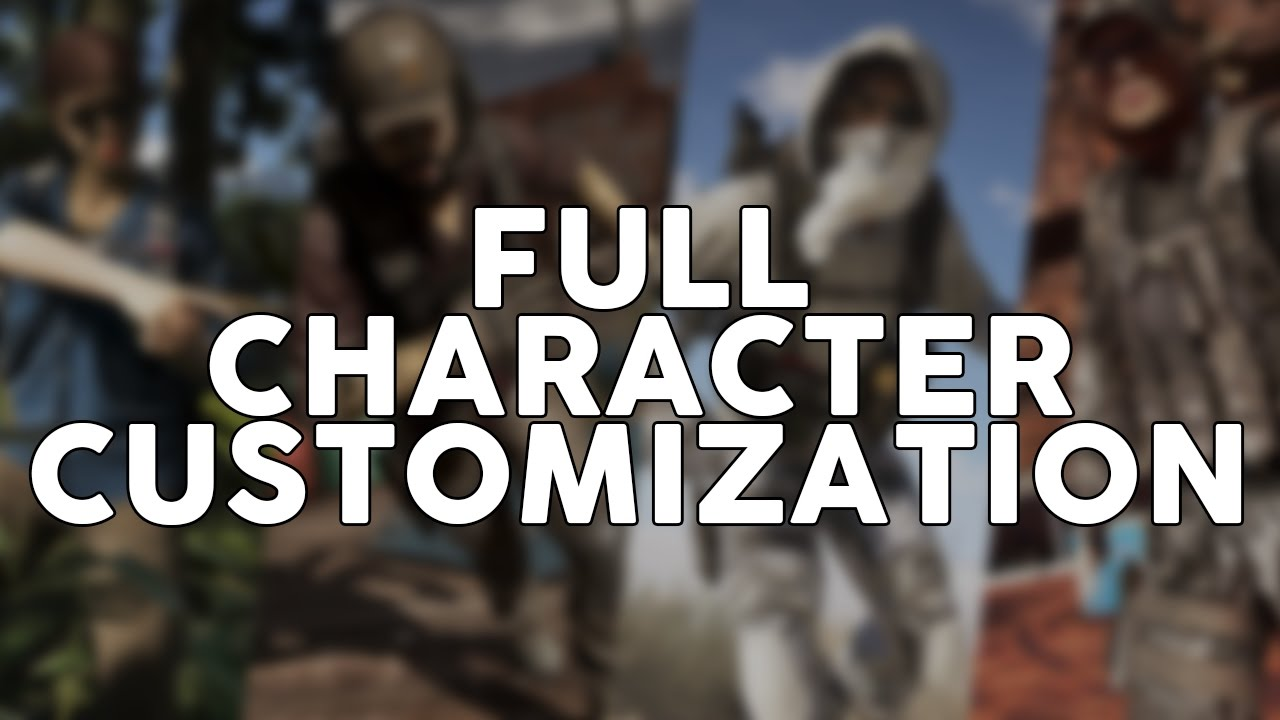 Ghost Recon Wildlands FULL Character Customization! Ghost Recon Wildlands FULL Character Creation!