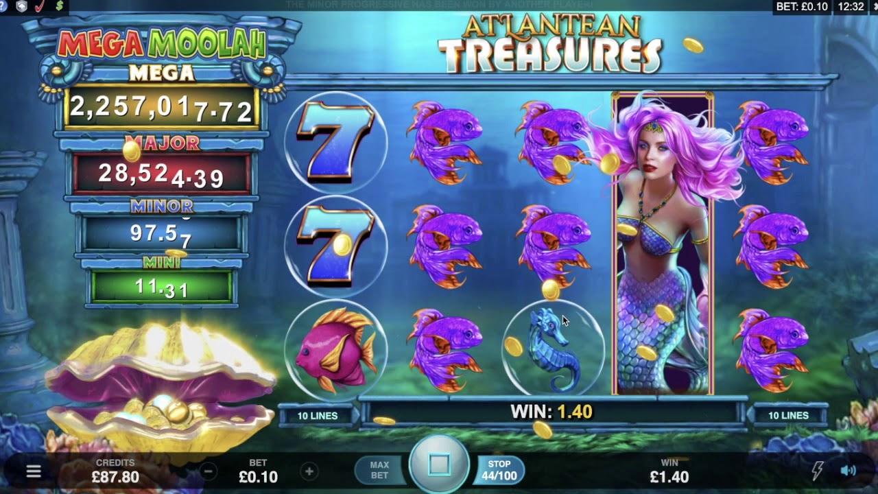 Atlantean treasures slot