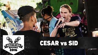Cesar (ES) vs Sid (DF) (4ª de final) - Duelo de MCS Nacional 2016 - 20/11/16