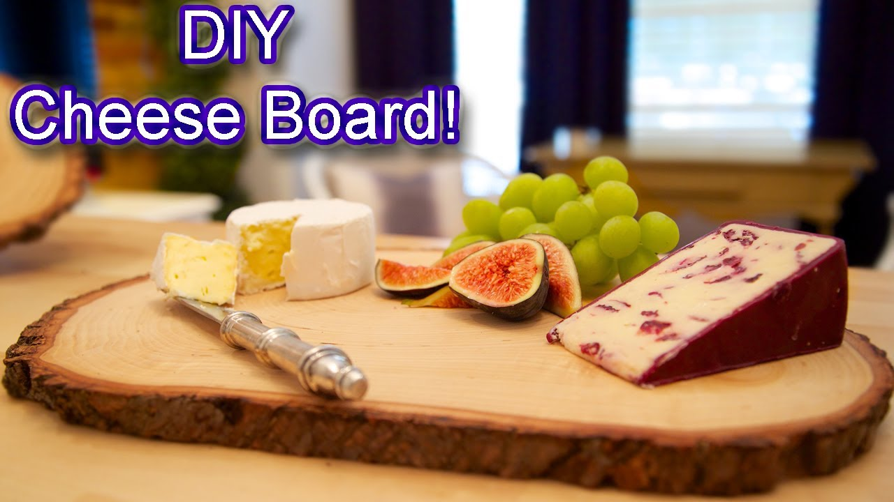 suite living diy cheese board youtube. Black Bedroom Furniture Sets. Home Design Ideas