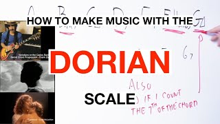 How To Make Music With The DORIAN Mode And Its Chords On Guitar