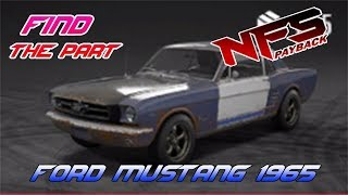 SEARCH Wheels & Tires - Ford Mustang 1965 - NFS Payback