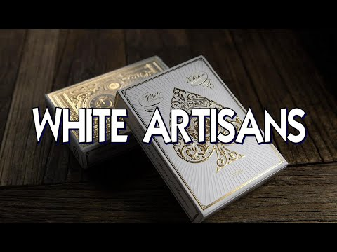White Artisans Deck - Theory 11 - Playing Cards Review