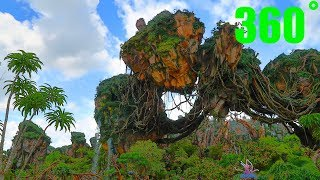 Pandora-The World of Avatar 360˚ Animal Kingdom, Walt Disney World