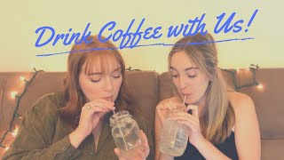 Drink Coffee with Us! (icebreakers, BuzzFeed quizzes, and Rascal Flatts)