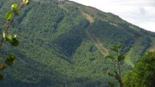 Climbing Cape Smokey Ski Hill