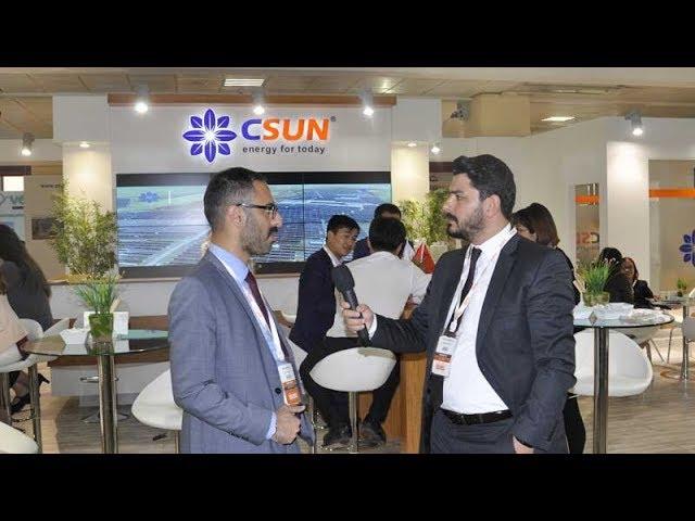 CSUN, SOLAREX İstanbul 2018-Enerji Portalı Ropörtajı