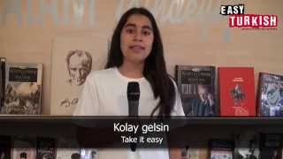 Easy Turkish - 20 most important phrases with Rojin