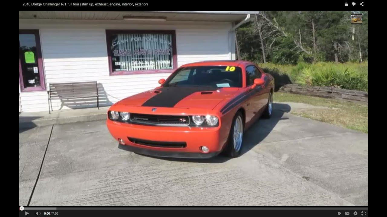 Elegant 2010 Dodge Challenger R/T Full Tour (start Up, Exhaust, Engine, Interior,  Exterior)   YouTube Nice Look