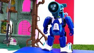 Видео для мальчиков с Трансформерами: Супер прибор для Блура
