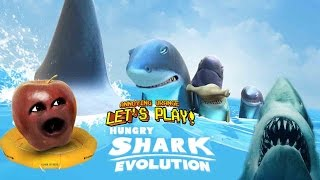 midget apple plays hungry shark evolution