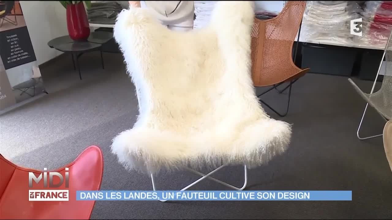 Les Fauteuils Design Airborne Made In Landes Youtube