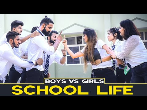 School Life Boys vs Girls | Sanju Sehrawat | Make A Change | Motivational Videos 2019