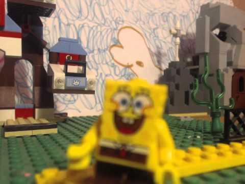 lego spongebob SOMTHING SMELLS!