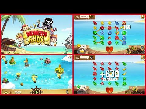 Monkeys Ahoy Gameplay / No Commentary |
