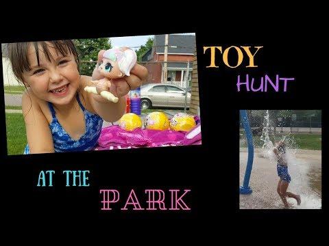 TOY HUNT AT PARK 16 L.O.L CONFETTI DOLLS