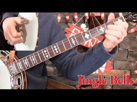 Jingle Bells on Banjo Lesson!